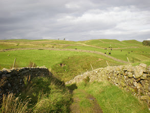 Photo: The dales just before Middleton in Teesdale