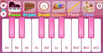 Pink Piano Pro screenshot thumbnail