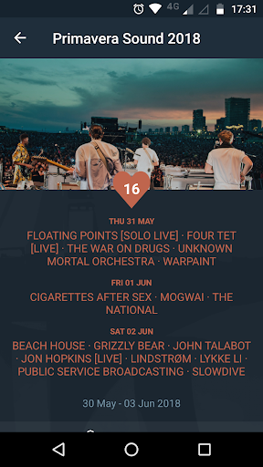 crabhands: new music releases & festival lineups 2.06 screenshots 6