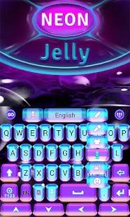 Neon-Jelly-GO-Keyboard-Theme 2