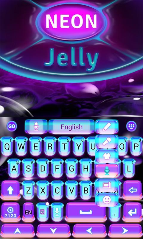 Neon-Jelly-GO-Keyboard-Theme 9