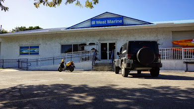 Photo: West Marine - for supplies and hardware.