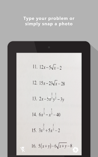 Mathway - Math Problem Solver Screenshot