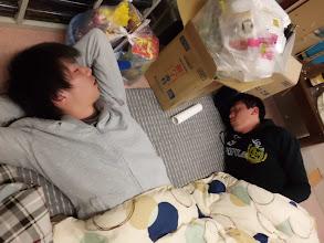 Photo: まだ早い時間なのにみんな爆睡