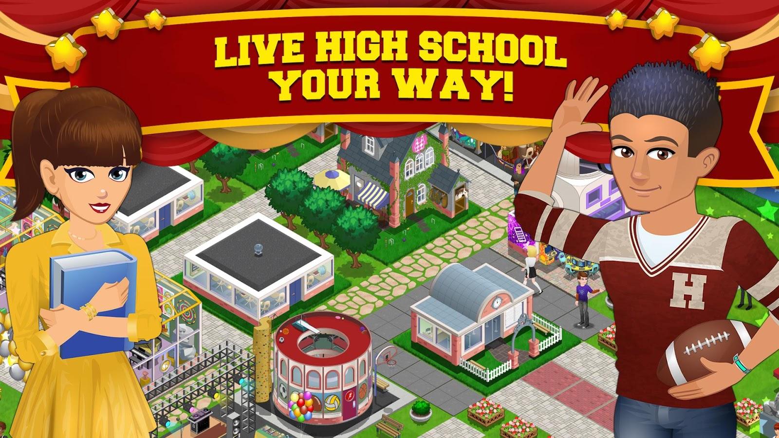 High School Story- screenshot