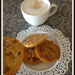 Cheat's Salted Caramel Pecan Pie Cookies