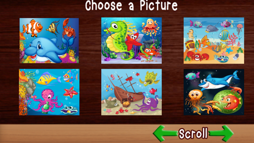 UnderSea Puzzle Games For Kids