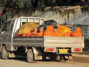 Photo: Day 296 - A Truck Load of Monks