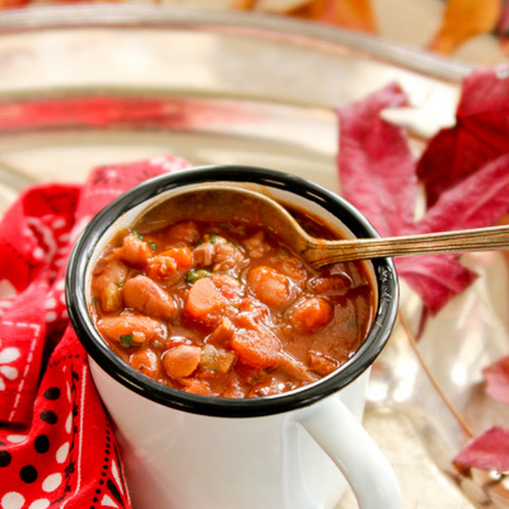 Slow Cooker Pork and Bean Stew Recipe