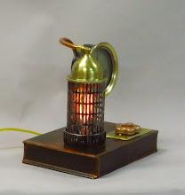 Photo: steampunk altitude lamp