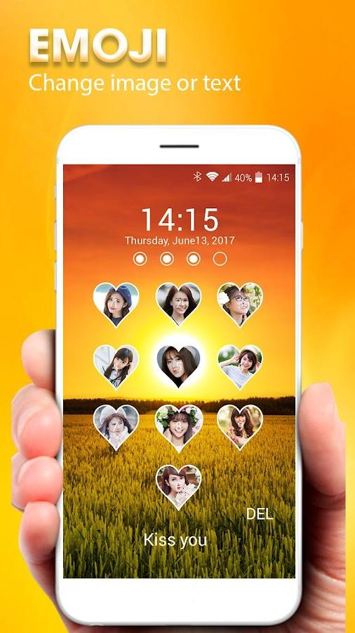 how to change lock screen photo