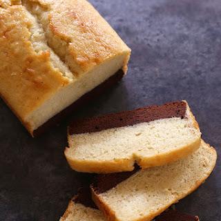 Vanilla Bean-Brownie Cake