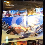 Storm-G arcade edition game in Odaiba, Tokyo, Japan