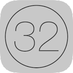 32 Hero - Touch the Numbers Icon