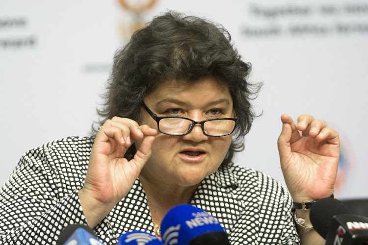 "Minister of Public Enterprises Lynne Brown urged to act against ""abuse of state resources"".."