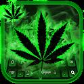 Rasta Weed Keyboard icon