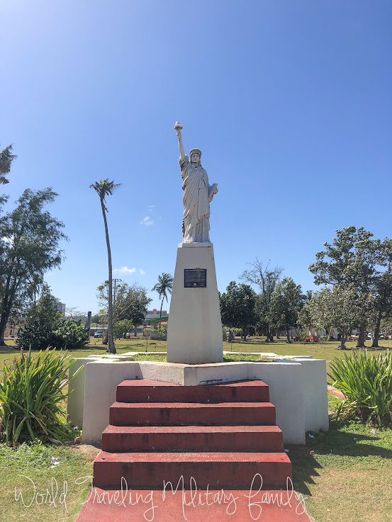 statue of liberty paseo stadium park Guam