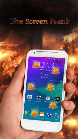 Fire Screen Prank 1.0.2 screenshot 605598