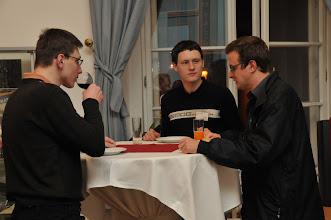 Photo: Zakončení konference u sklenky vína.