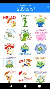 Pixar Stickers: Toy Story Screenshot