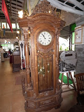 Photo: A grandfather clock at the reception