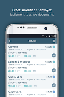 Sellsy Mobile – Vignette de la capture d'écran