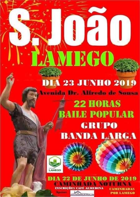 Festa de S. João – Lamego – 23 de Junho de 2019