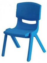 Kids Blue Chairs