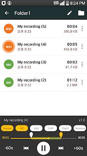 Shhy Voice Recorder - náhled