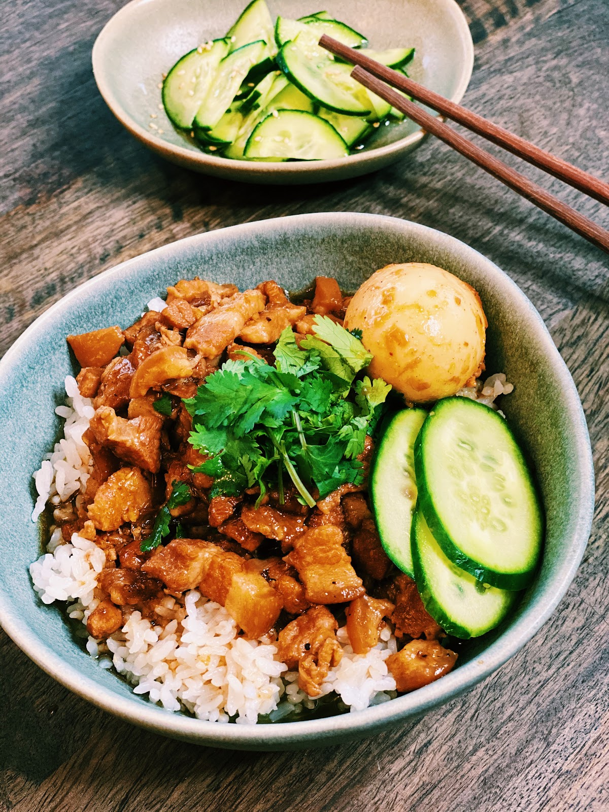Authentic Taiwanese Braised Pork Rice (Instant Pot & EASY)