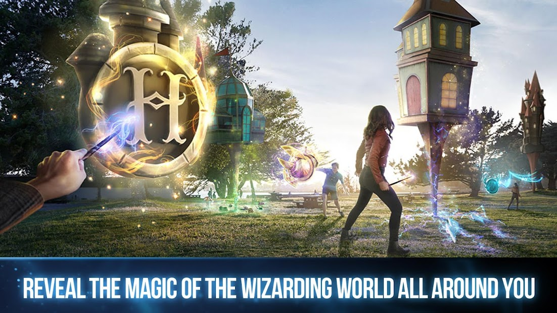 Harry Potter:  Wizards Unite Android App Screenshot