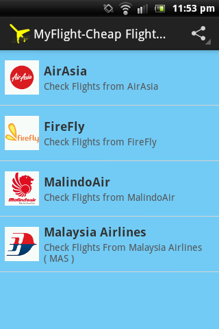 MyFlight:Cheap Ticket Malaysia