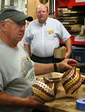 Photo: ... what was really interesting is his blow out on his first attempt and a glimpse into segmented turning.