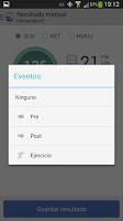 Screenshot of MenaDiab® Mobile
