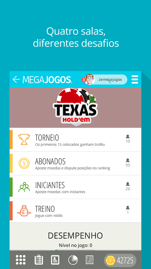 Texas holdem achievements