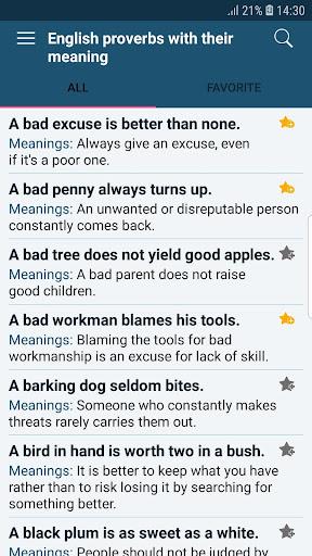 All English Idioms & Phrases screenshots 5