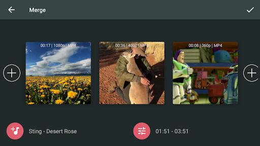 AndroVid Pro Video Editor  screenshots 3