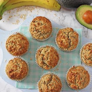 Banana, Avocado & Apple Muffins Recipe