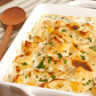 Creamy Cottage Cheese and Chive Potatoes.