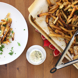 Sweet & Sassy French Fries with Truffled Tarragon Aioli