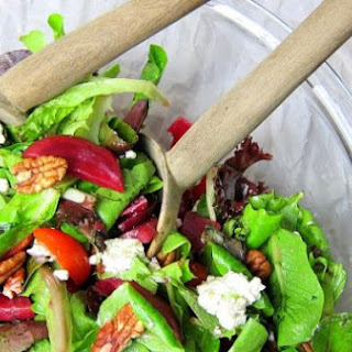 Beet and Blue Cheese Salad with Citrus Vinaigrette Dressing