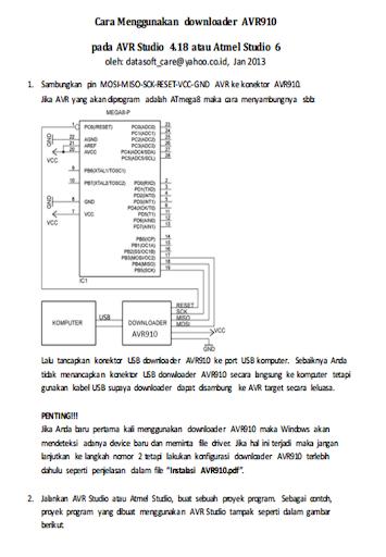 Downloader AVR910