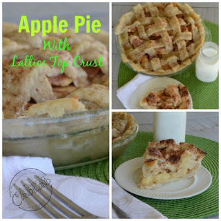 Apple Pie with Lattice Top Crust
