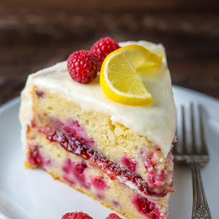 Lemon Raspberry Cake.