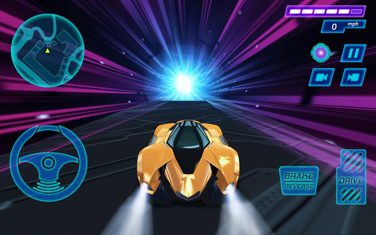 Concept Car Driving Simulator- screenshot