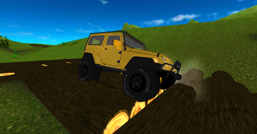 Offroad 4x4 Jeep Racing 3D apkpoly screenshots 6