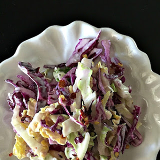Napa Cabbage Cole Slaw Salad