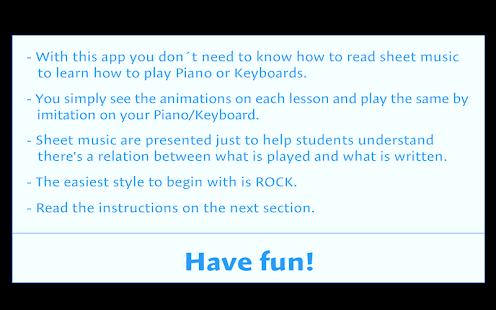 Learn to play Piano PRO Screenshot