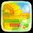 (FREE) GO SMS SUNFLOWER THEME mobile app icon