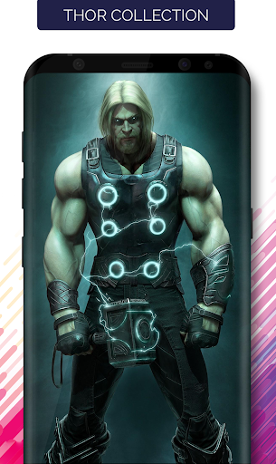 Superheroes Wallpapers Android app 4